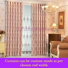 Sheer Pink Curtains Pink Fabric Grommet Window Bedroom Curtain Design Drapes Sheer