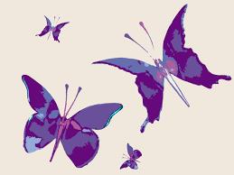 wallpapers of glitter butterflies paris purple butterfly purple background wallpapers purple