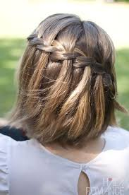plait at back of head hairstyle braid across the back of your head to me it seems like a cute