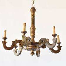 Pub Light Fixtures by Italian Painted Wood Chandelier The Big Chandelier
