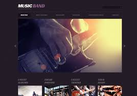 best music blog wordpress themes for musicians artists and bands
