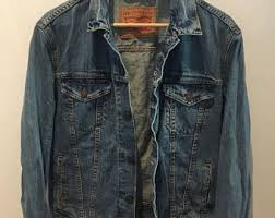 Light Denim Jacket Light Denim Jacket Etsy