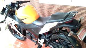 honda cbr latest bike honda cbr bike orange with white 150cc youtube