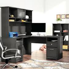 L Shaped Desk With Bookcase Corner Tv Stand 3 L Shaped Desk Set With Hutch