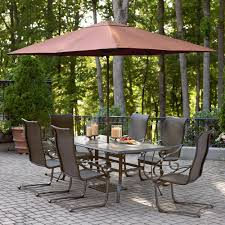 Oasis Outdoor Patio Furniture Garden Oasis Wdc 833 Essex 7 Piece Dining Set Sears Outlet