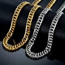hip hop jewelry necklace images Hip hop chains for men collares wholesale gold color rock big jpg