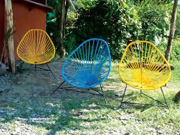 Yellow Patio Chairs The Iconic History Of The Acapulco Chair I Patio Productions