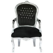 Esszimmer Antik Kaufen Extravagante Barock Stühle Stuhl Sessel Schwarz Silber Antik