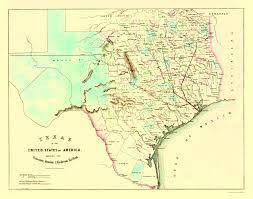 Galveston Island Map Old Railroad Map Galveston Houston And Henderson 1872