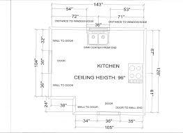 standard measurement of house plan kitchen layout measurements admirable uncategorized for cabinets