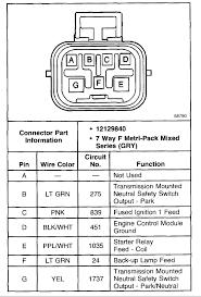 question about prnd connector the 1947 present chevrolet u0026 gmc