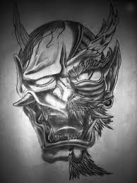 hannya mask samurai tattoo devil mask tattoo designs images for tatouage