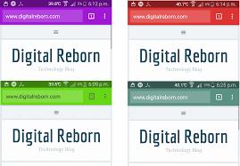 change mobile browser address bar tab colors wordpress