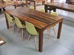 Reclaimed Timber Dining Table Reclaimed Timber Table From Wood How To Do This Work