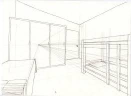 dessin chambre en perspective dessiner sa chambre en perspective chaios com