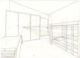 dessiner en perspective une cuisine mlle reinette