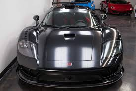 saleen black on black saleen s7 twin turbo for sale