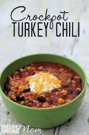 easy crockpot turkey chili recipe
