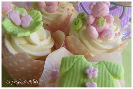 pink u0026 lime green baby cupcakes cupcakes2delite