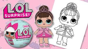 surprise doll coloring book speed coloring kids
