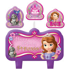 sofia the candle sofia the birthday party supplies theme party packs