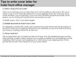 collection of solutions hotel front desk cover letter with no