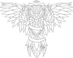 23 best simple owl outline tattoo images on pinterest owl