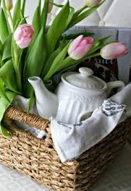 Housewarming Gift Basket Neat Gift Basket Pottery Barn So Cute The House Pinterest