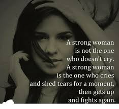 Crying Woman Meme - a strong woman is not the one who doesn t cry a strong woman is