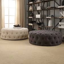 round upholstered coffee table round upholstered coffee table best 25 round tufted ottoman ideas on