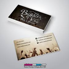 business card design for builders none stickersandmore