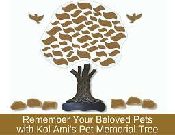 kol ami s pet memorial tree remember your beloved pet