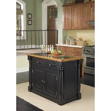 home styles kitchen islands monarch kitchen island black with black granite inset 6464476