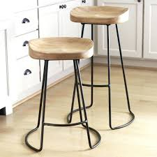Simple High Chair Bar Stools Stratmoor Swivel Bar Counter Stools Without Backs