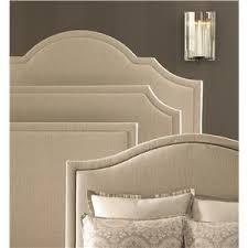 bassett custom upholstered beds queen barcelona upholstered