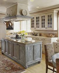 Pics Of Kitchen Islands Colorful Kitchens With Charisma Traditional Home