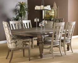 Rustic Vintage Home Decor by Dazzling Square Wooden Gray Dining Table With Four Chairs As Well