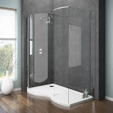 How To Remove Bathtub And Replace With Shower Bathroom Classy Dreamline Shower Doors For Modern Bathroom