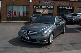 used 2012 mercedes benz c class for sale toronto on