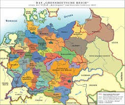 Germany Map by Andrew Clem World War Two Map Displaying The Nature Parks In