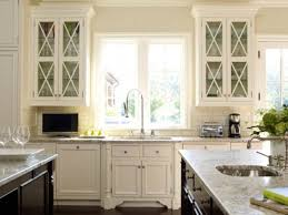 glass kitchen cabinets ideas ideas for decorating glass cabinets in the kitchen dengarden