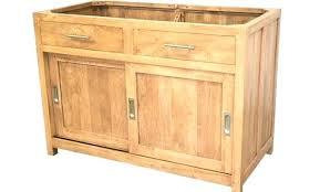 meuble cuisine bois meuble sous evier bois massif massif meuble cuisine en bois massif