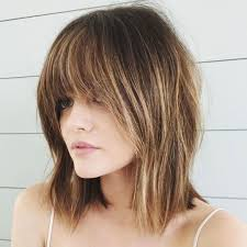 medium length fringe hairstyles 15 modern medium length haircuts with bangs layers for thick hair
