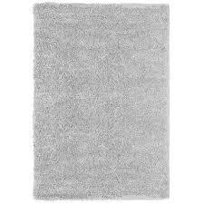 Shag Carpet Area Rugs Shop Carpet Deco Loft Shag 5x7 Light Gray Light Gray Indoor