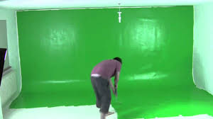 Green Paint Painting A Green Screen In 60 Seconds Youtube