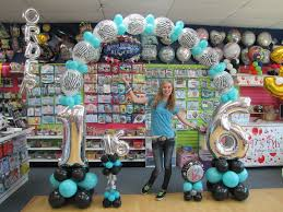 cinderella themed sweet 16 quinceanera sweet 16 balloons at it s my party