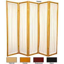 Panel Room Divider 5 Panel Room Dividers U0026 Decorative Screens Shop The Best Deals