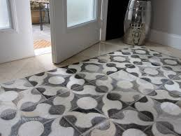 Rug Art Cowhide Rug In The My Foyer From Our Hair On Hide Collection