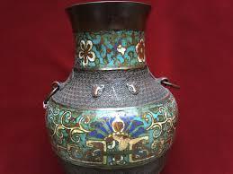 Antique Cloisonne Vases Antique Cloisonne Vase Elite Collectible