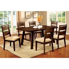 furniture of america hockenberry 7 piece dining table set hayneedle